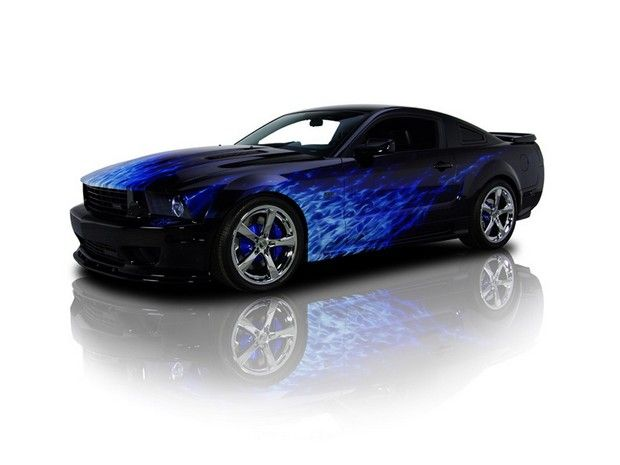 2007 Ford Saleen Mustang S281 Extreme. Source: RK Motors Charlotte.