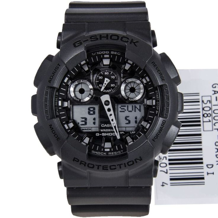 Chronograph-Divers.com - Casio G-Shock Mens Sports Watch GA-100CF-8A, $96.00 (http://www.chronograph-divers.com/casio-g-shock-sports-watch-ga-100cf-8a/)