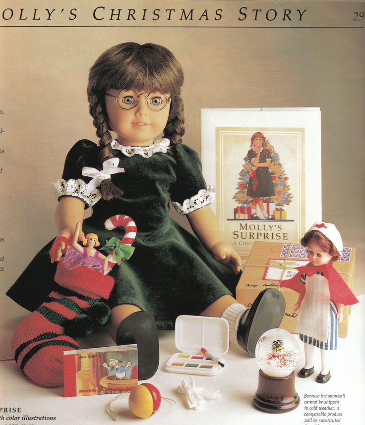 American Girl Molly - Christmas
