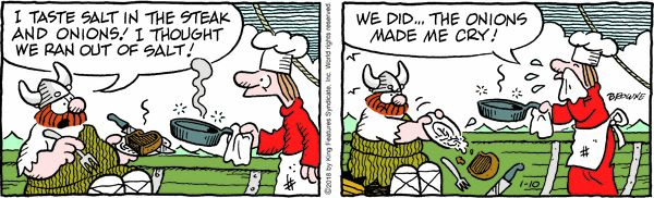Hagar the Horrible for 1/10/2018