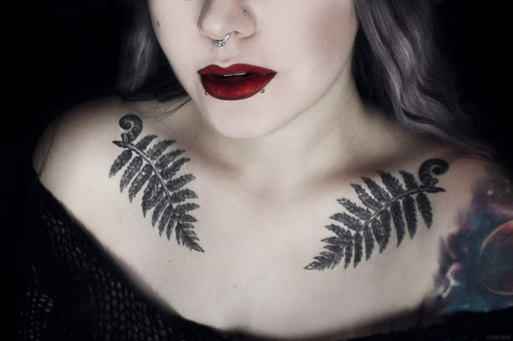 Fern tattoos: https://www.facebook.com/mariannetattoo Lips: Kat Von D in Nosferatu https://www.instagram.com/aderhine © Aderhine photography