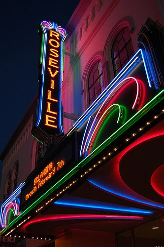 Roseville Theatre......Roseville, California  We lived in Roseville when Makenzie was born <3