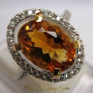 Cincin Wanita Batu Permata Citrine High Quality, Silver 925, Ukuran Ring 13. Info: http://goo.gl/IG8zJs Order cepat: 0888 1 6262 52 (WhatsApp/Call) Video: https://youtu.be/VTlv6QRjBp8 Melayani Pembeli dari Seluruh Indonesia.