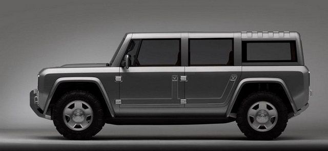 2015 Ford Bronco side