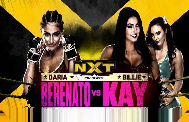 Daria Berenato vs. Billie Kay with Peyton Royce