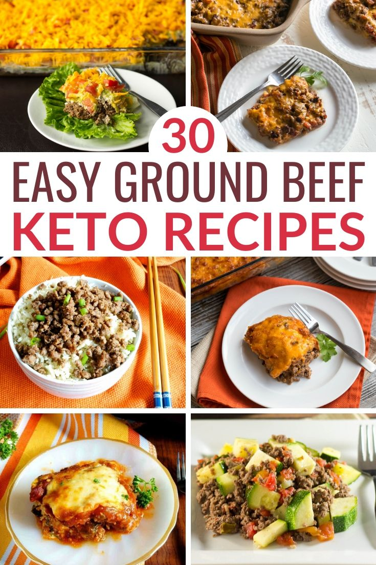 Easy Low Carb Keto Ground Beef Recipes In 2020 Ground Beef Recipes Recipes Ground Beef Keto Recipes