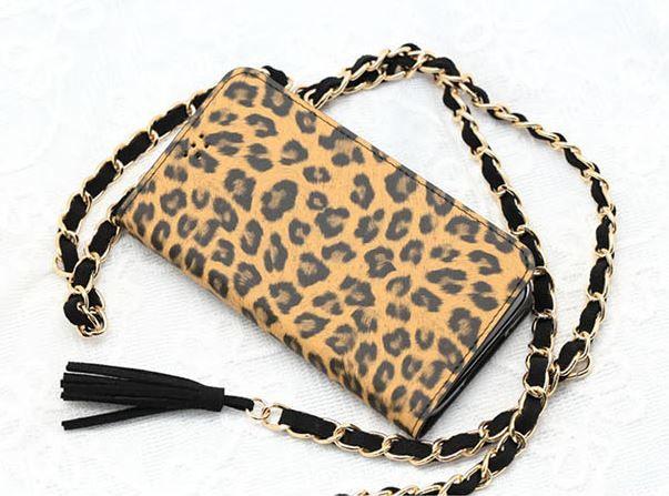 Nadia Luxury Leopard Diary Flip Case for Galaxy Note 3 Neo