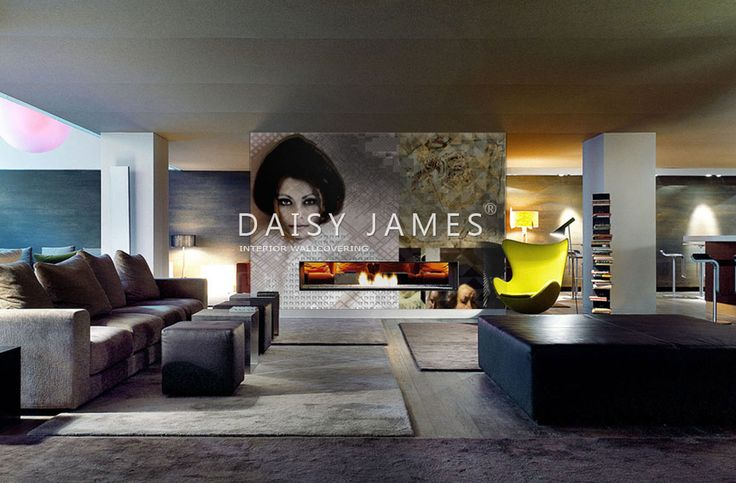 DAISY JAMES wallcover The Sooph