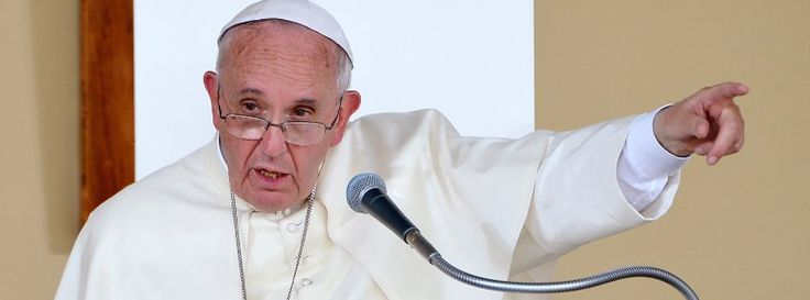 Pope Francis: those in weapons industry can't call themselves Christian http://www.theguardian.com/world/2015/jun/22/pope-francis-says-those-in-weapons-industry-cant-call-themselves-christian …this Pope is good, love this Pope,though not a catholic lol   Papstkritik an Rüstungsbranche: Christen bauen keine Waffen http://www.spiegel.de/panorama/papst-franziskus-kritisiert-waffenbranche-a-1040023.html
