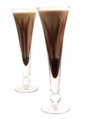 Liquore al cioccolato ed arancia