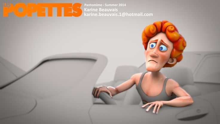 LES POPETTES - SUMMER 2014 - Karine Beauvais - Pantomime | Squeeze Studio Animation.