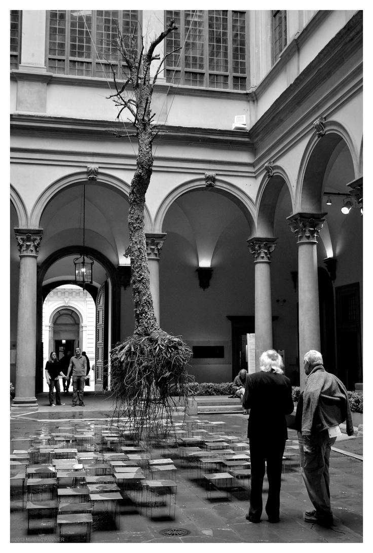 Exposition DI FRAGILITÀ E POTENZA by Federico Gori - Florence Italy
