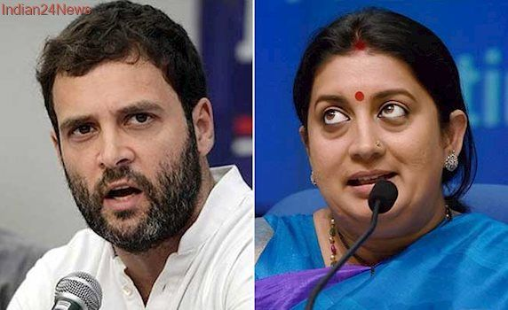 Rahul Gandhi Takes A Swipe At PM Modi, Smriti Irani Gives It Back