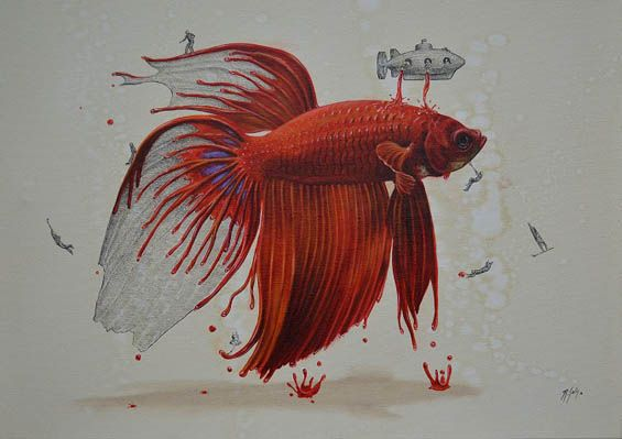 Whimsical Paintings Reveal How Animals Are Created