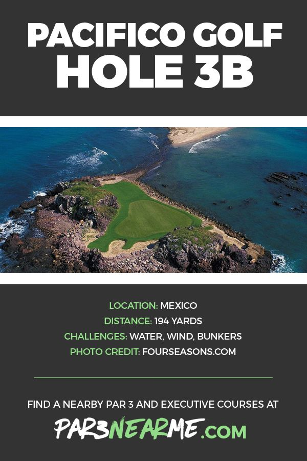 One Of The Most Famous Par 3 Holes In World Punta Mitas Pacifico Golf Course