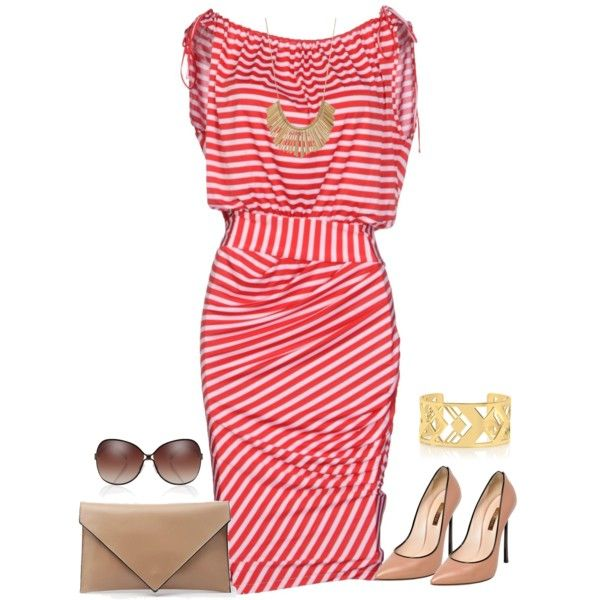 outfit 1187 by natalyag on Polyvore featuring мода, GUESS by Marciano, Casadei, Verali and Tory Burch