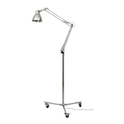 14-599 - STAANDE LAMP KINGSTON NIKKEL