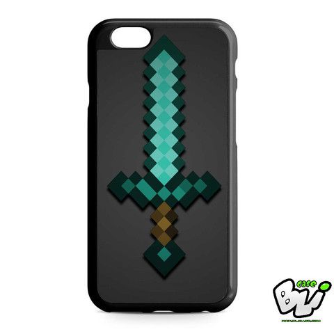 Minecraft Green Mint Sword iPhone 6 | iPhone 6S Case