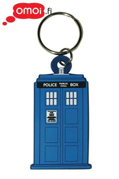 Doctor Who Tardis avaimenperä (PVC) - 3,00EUR : Omoi.fi, anime, manga ja cult oheistuotteiden verkkokauppa