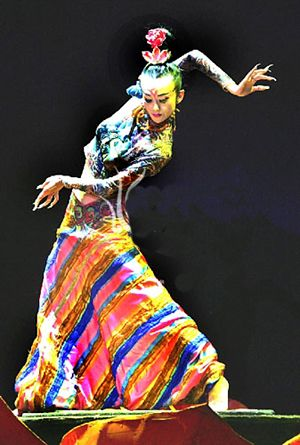 Chinese+Dance | chinese dancing artist yang liping leads the dance show mystery