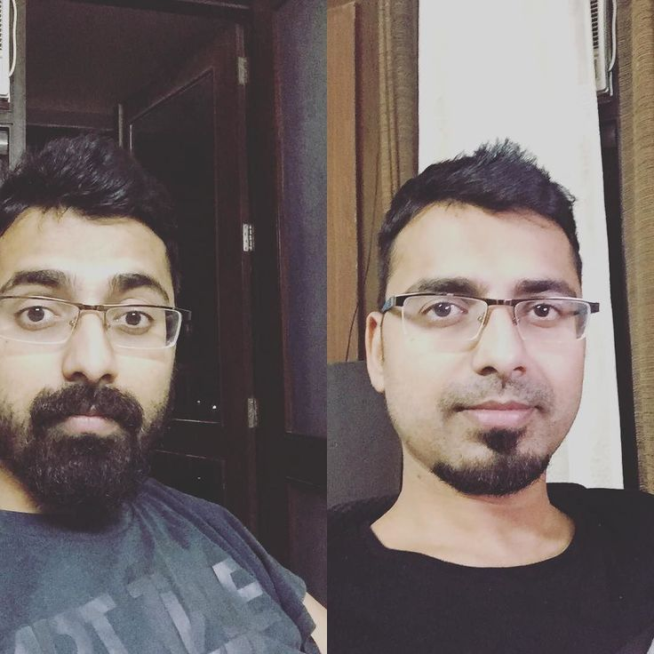 Time for A/B testing.   A: With Beard B: No Beard  Which one you like d most?  #abtesting #beard #beards #aftershave #aftershaving