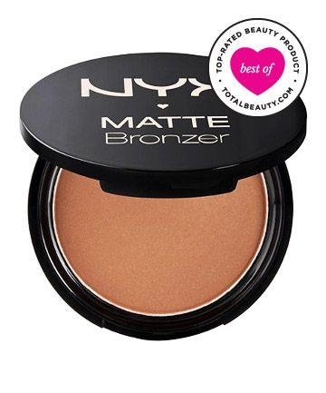 Best Bronzer No. 13: NYX Cosmetics Matte Bronzer, $9 - matte finish, great for contouring