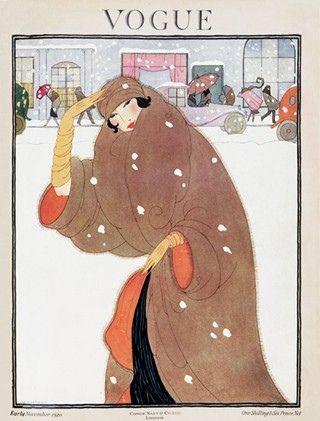 November Vogue. 1920. Vintage Vogue Covers #Vintage #Vogue #Covers