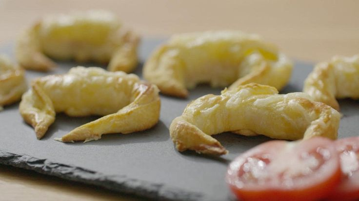 In this video, Telegraph food writer Xanthe Clay shares her recipe for simple mini cheese and ham croissants, made with shop-bought, ready-rolled dough.