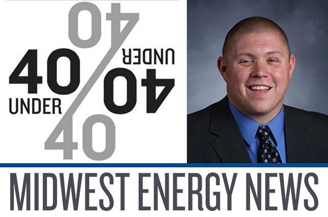 """Congrats to our President Ben Granley on being named to the Midwest Energy News """"40 Under 40"""" list!  #award #business #energy #usa #distributor #minnesota #minneapolis #wisconsin #construction #solar #cleanenergy #water #nature #news #company #power"""