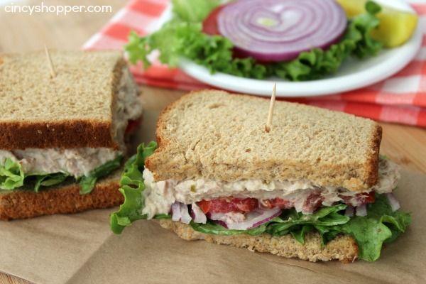 Tuna Salad Sandwich | Recipe | Tuna Salad Sandwiches, Tuna Salad and ...