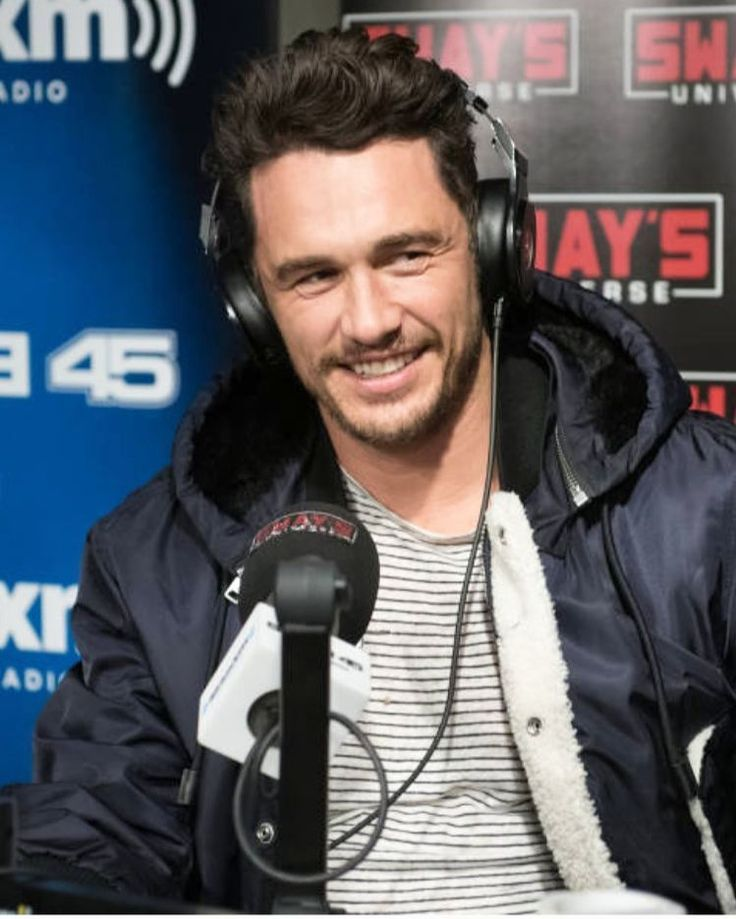 251 отметок «Нравится», 1 комментариев — All things James Franco (@francofeen) в Instagram: «James at Sway in the Morning onEminem's Shade 45 in NYC today   GettyImages #jamesfranco…»