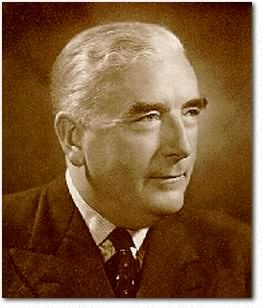 Australia's Prime Minster in 1958 Sir Robert Menzies