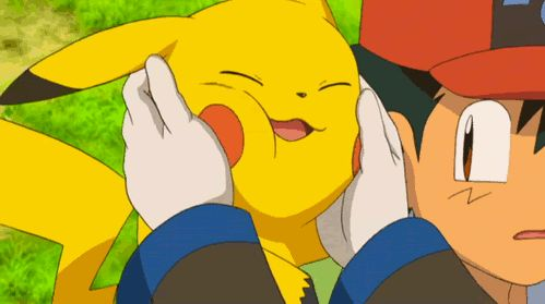 I love pikachu... And the anime... And everything that is related to Pokemon