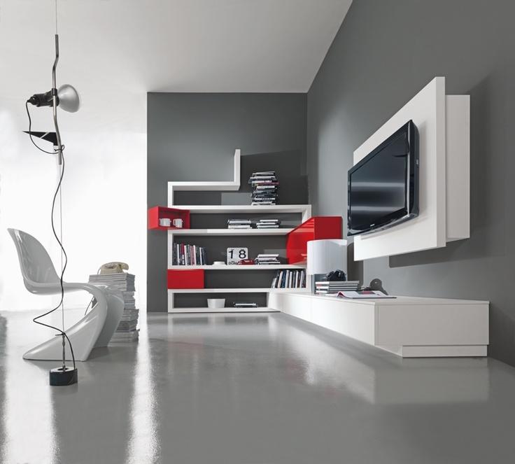 Giorno Fimar Side System 53 progettazione casa funzionale