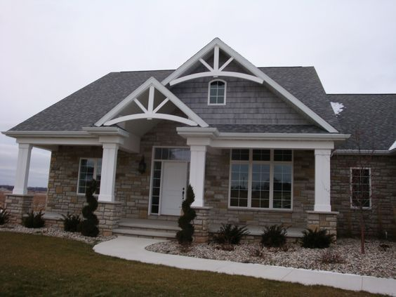 12 best stucco homes images on pinterest exterior homes for Stucco and siding combinations
