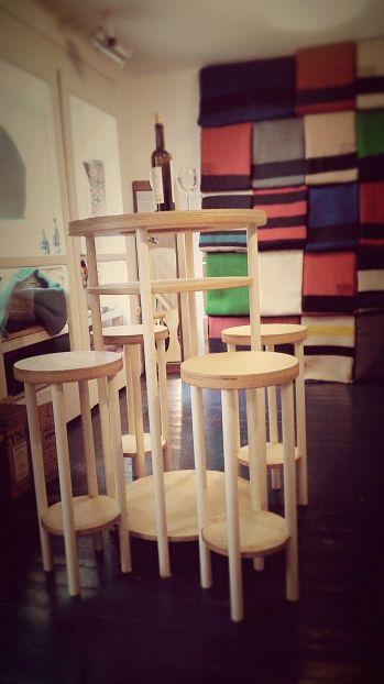 Barový set / Bar set, furniture design by Markéta Jestřábová