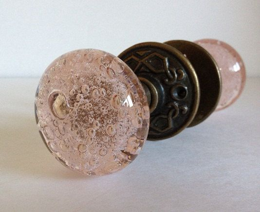 glass door pulls hardware pink knob bubbled sets canada cheap knobs uk