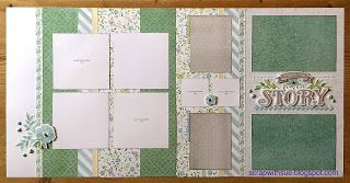 Scrap with Sue: February Club Kit - Chelsea Gardens