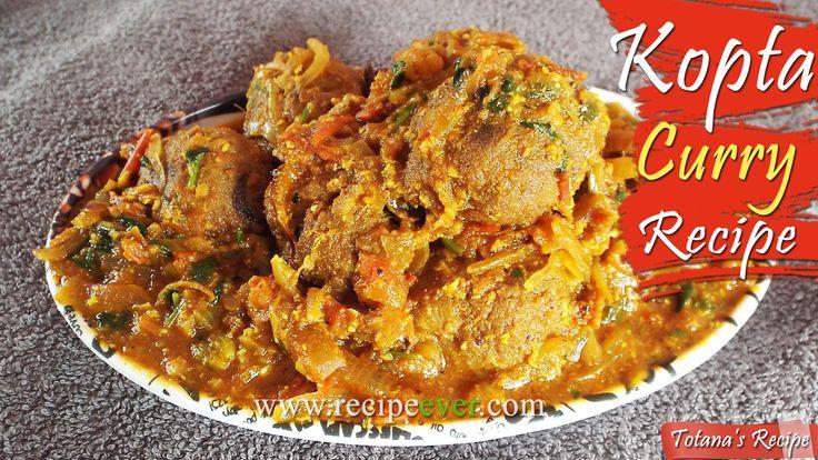 Kofta curry recipe-Kacha kela kofta Bengali veg recipe-Green banana reci...