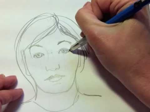 Excellent resource for any teacher who is about to teach self portraits - Simple clear instructions!!