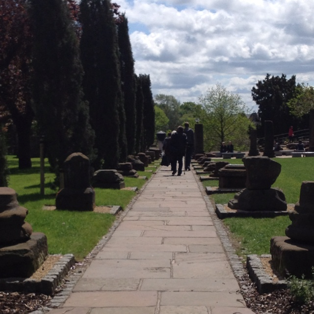 A garden constructed in a Roman style. A path runs through the garden from Pepper Street to the river Dee in Chester. The gardens are free to enter. Arrow FS is based in the historical city of Chester. Click on the image to visit Arrow's website.