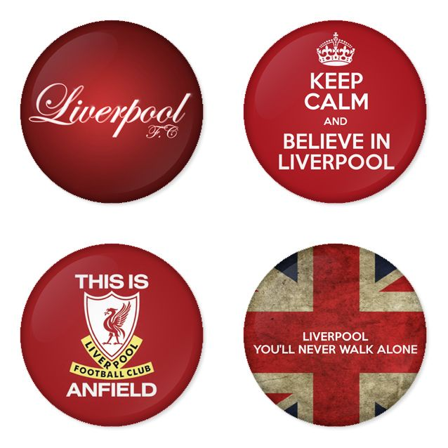 "LIVERPOOL Football Club 1.75"" Badges Pinbacks, Mirror, Magnet, Bottle Opener Keychain http://www.amazon.com/gp/product/B00F2JJ9E2"