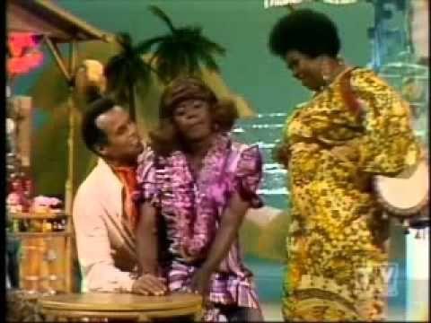 ▶ Flip Wilson - Geraldine and Harry Belafonte - (The Flip Wilson Show ~YouTube