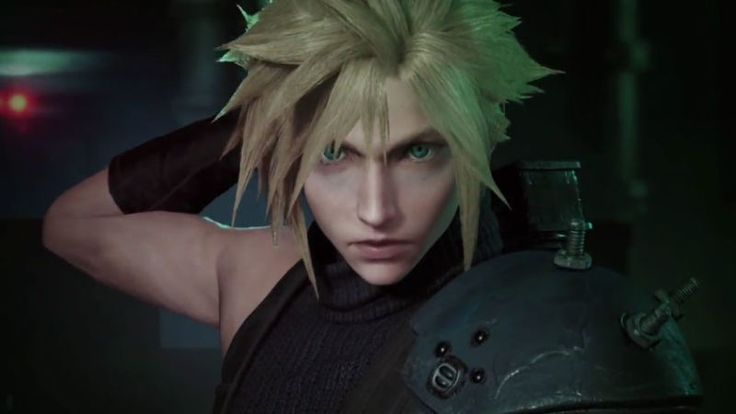 The Final Fantasy VII Remake Is Looking Hot