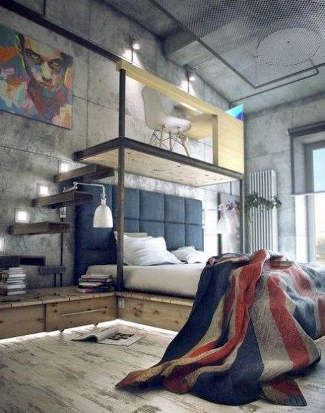 ComfyDwelling.com » Blog Archive » 57 Stylish Masculine Bedroom Design Ideas