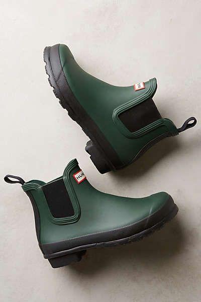 hunter original two tone chelsea boots s h o e l o v e pinte. Black Bedroom Furniture Sets. Home Design Ideas