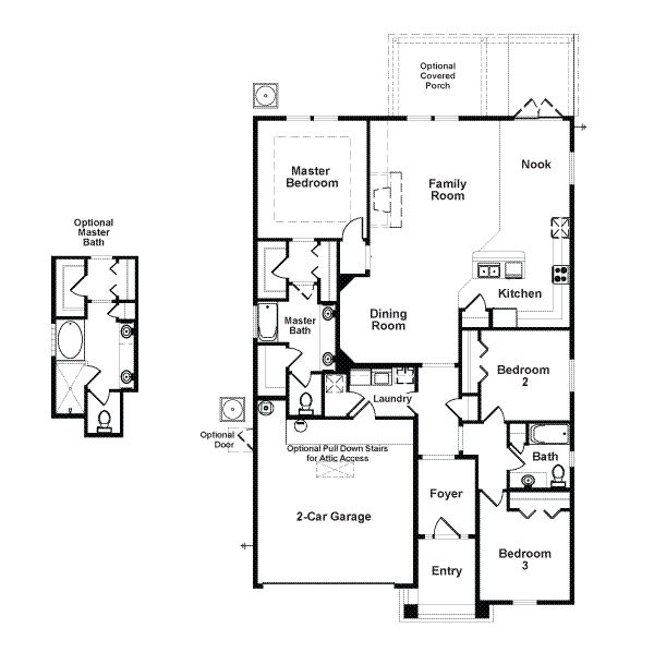 1600 Square Foot House Plans Richmond American Homes