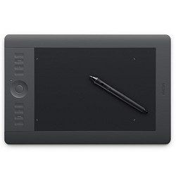 Wacom Intuos5 Touch Medium Pen Tablet (PTH650) Quickly and professionally edit photos and create digital artwork using natural pen control. Use the new multi-touch surface to pan, zoom, navigate and more. 2048 levels of pen pressure sensitivity for precise pressure control. User-defined ExpressKeys put time saving shortcuts, at your fingertips. Express View display provides an on-screen reference ... #Wacom #Personal_Computer