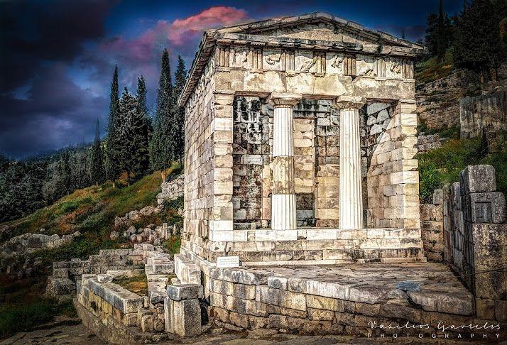 The Archaeological Site of Ancient Delphi (Δελφοί) - Συλλογές - Google+