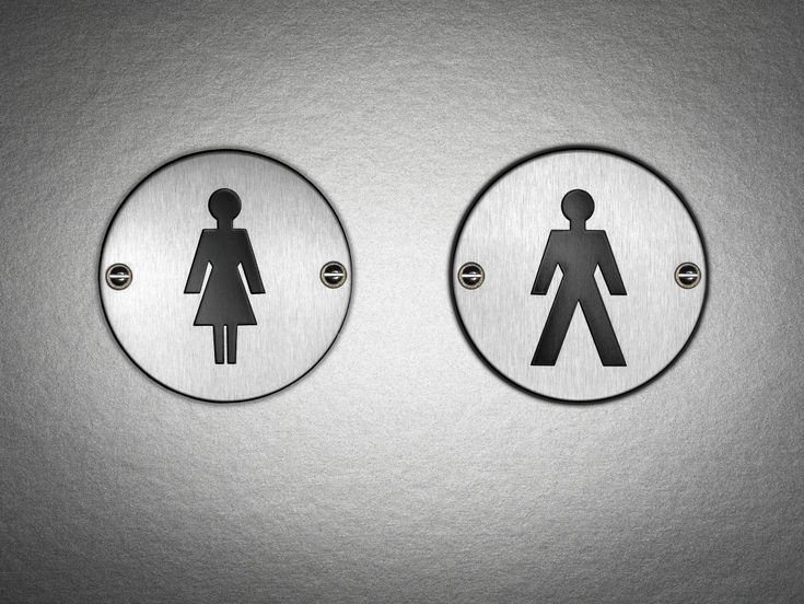 Women's Bathroom Sign You Can't Unsee best 25+ bathroom symbol ideas on pinterest | decorating wall